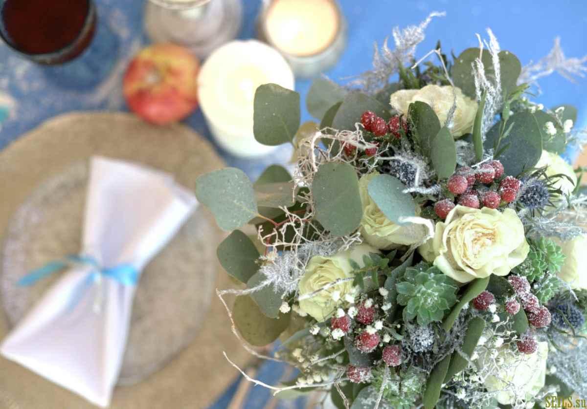 Фотопроект зимней свадьбы «Crystal Love»