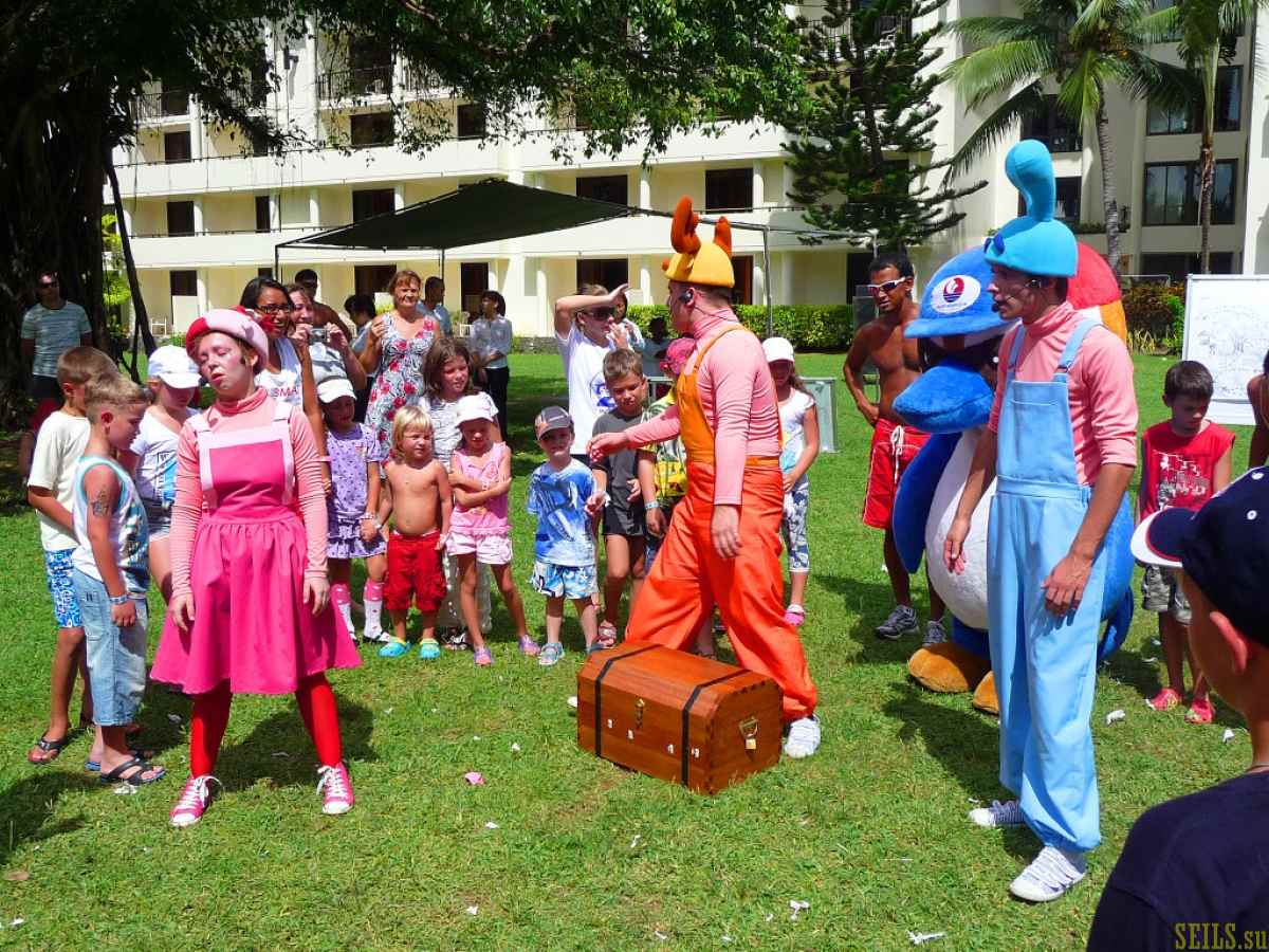 Гастроли «Смешариков» на Сайпане