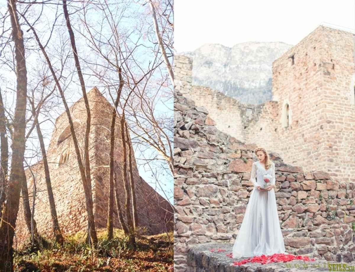 Итальянская свадьба в стиле «Красавица и Чудовище»