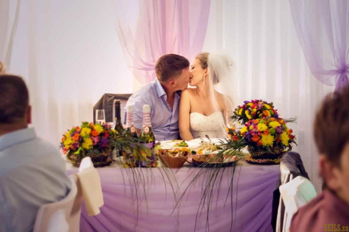 Яркая летняя свадьба в стиле ЭКО